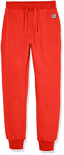 Kid Nation Kids' Casual Jogger Pant for Boys or Girls Tomato Red -