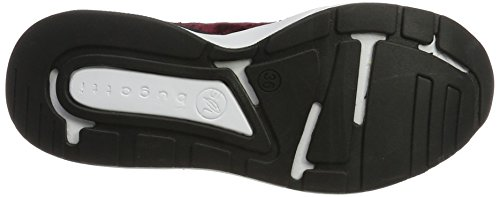 Bugatti 441270606000 - Zapatillas de casa Mujer Rot (Bordo)