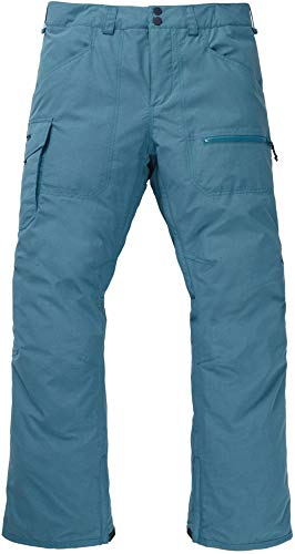 Burton Mens Covert Insulated Pant, Storm Blue