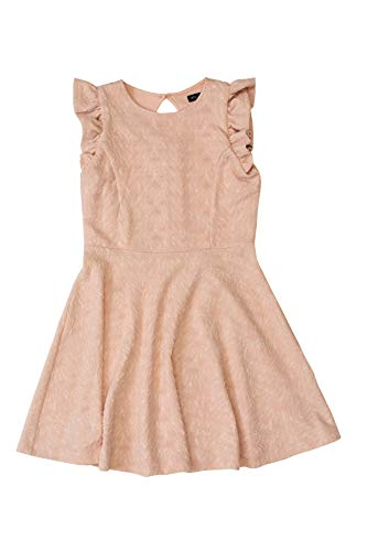 Price comparison product image Ava & Yelly Girls' Texture Skater Dress S (8) Blush