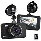 Dashboard Camera FHD 1080P 170 Wide Angle 3' Screen Dash Cam Car DVR Vehicle Dashcam On Dash Video, G-Sensor ,WDR ,Loop Recording ,Night Vision with 16GB SD Card Black Friday Deals 2017