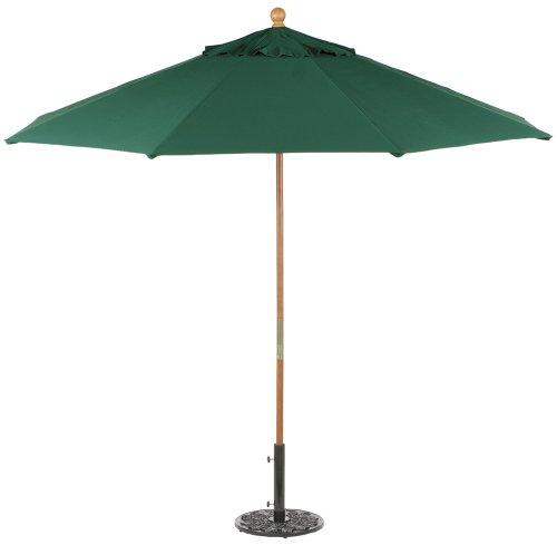 Oxford Garden Sunbrella 9-Foot Market Umbrella, Hunter Green For Sale