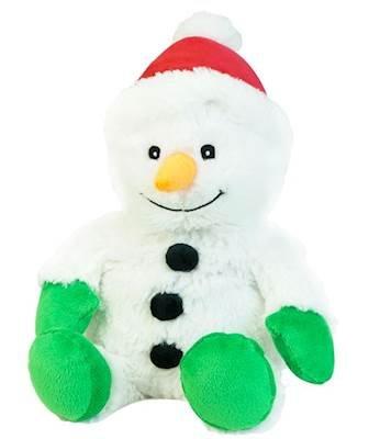 Intelex Warmies Snowman Cozy Plush Heatable Lavender Scented Stuffed Animal ()