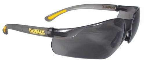 Dewalt DPG52-2C Contractor Pro Smoke High Performance Lightweight Protective Safety - Glass Safety Glasses Working