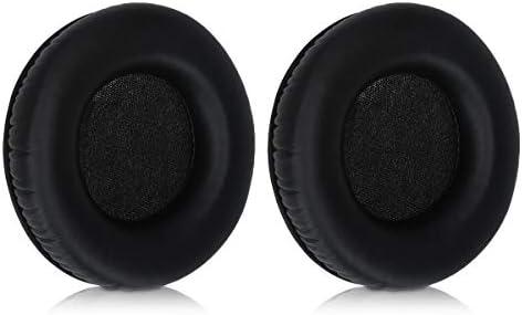 kwmobile 2x イヤーパッド対応: AKG K545 / K540 ヘッドフォン - PUレザー イヤーパッドカバー 交換用