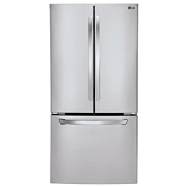 LG LFC24770ST French Door Refrigerator, 23.6 Cubic Feet, Stainless Steel