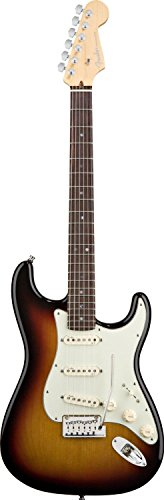 (Fender American Deluxe Stratocaster, Rosewood Fretboard, 3-Color Sunburst )