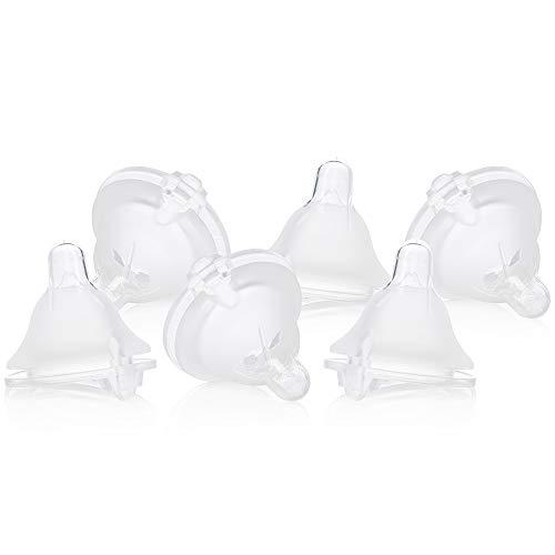 Evenflo Feeding Balance Plus Wide Neck Nipples for The Balance Plus Wide Neck Baby Bottles, Helps Reduce Colic, Medium Flow, 6 Months + from Evenflo Feeding