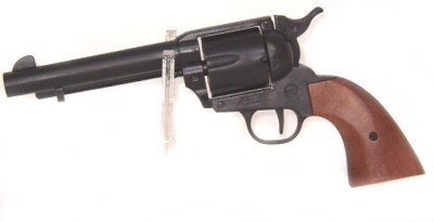Revolver Fertigkultur A Hallo Far West n schwarz für Verwendung Cinema Western