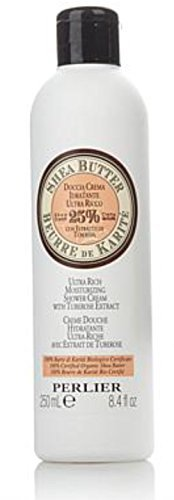 - Perlier Shea Butter with Tuberose Extract Shower Cream ~ 8.4 fl oz