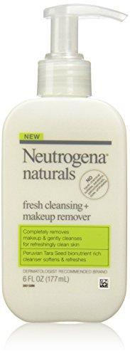 Neutrogena Naturals Fresh Cleansing + Средство для снятия макияжа, 6 унций (в упаковке 2)