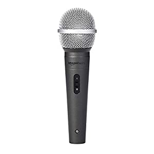 Amazon Basics Dynamic Vocal Microphone – Ca...