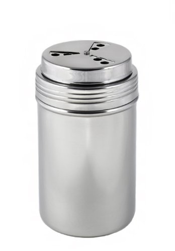 Brushed Stainless Steel Spice Shaker / Cheese Shaker - Fine StainlessLUX Kitcheware for Your Home
