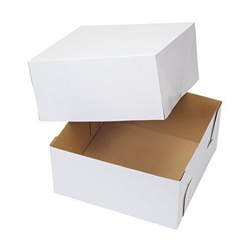 Wilton 12-Inch White Cake Box (Pack of 2)