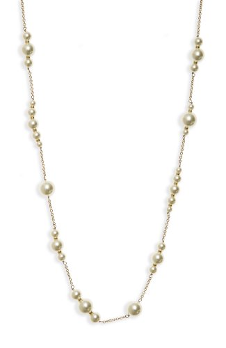 Lee Angel Imitation Pearl Necklace (393)