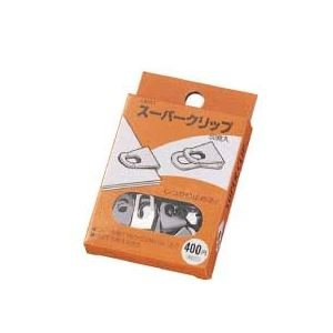 生活日用品 (まとめ買い) スーパークリップ SC400シルバ- 1箱(50発) 【×15セット】 B074JVKNDM