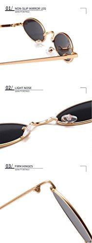 Lens Gold QIFANDI Unisex adulto amp;transparent Frame Steampunk UP0xnzFqwY