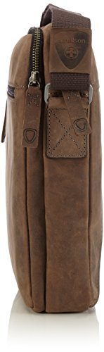 de Hombre 702 Bolso L Dark Shoulderbag Hunter Brown Strellson hombro wyCqZIY7