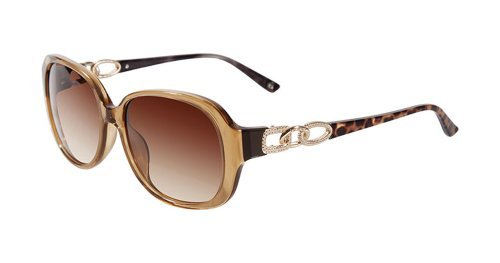 Bebe Flawless BB 7083 Sunglasses Color 733 Topaz - Brown (Bebe Brown Sunglasses)