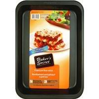 Pan Secret Bakers Square (Baker's Secret Nonstick Lasagna/Roast Pan)