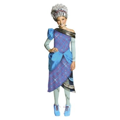 Monster High Halloween Full Episode (Monster High Scarily Ever After Threaderella Costume Large)