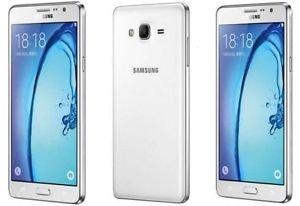 Cheap Unlocked Cell Phones Samsung Galaxy On7 SM-G6000 8GB White, Dual Sim, 5.5