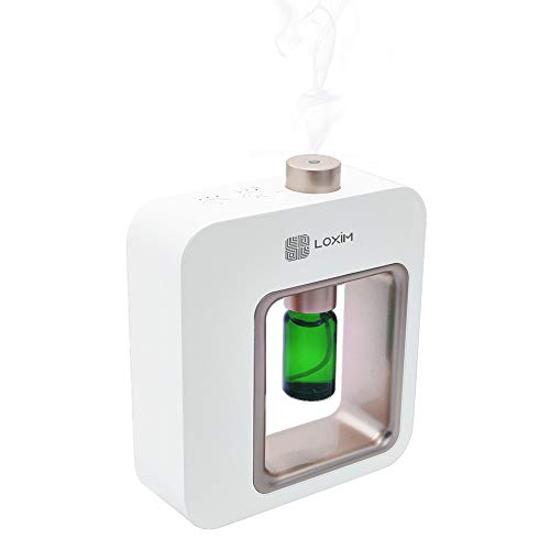 Aromatherapy Diffuser - Professional Grade Diffusers for Essential Oils, Nebulizing Technology, Full Spectrum Oil Adaptability, No Water, No Heat, Super Quiet, Portable, Battery Powered
