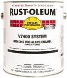 Rust-Oleum V7400 Series <340 Voc Dtm Alkyd Enamel, Safety Orange Gallon Can - Lot of 2