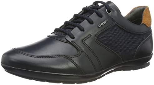 promo code 77c44 9878d Geox Men's Symbol 29 Lightweight Sneaker, Navy 40 Medium EU ...
