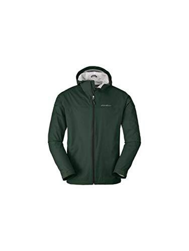 (Eddie Bauer Men's Cloud Cap Lightweight Rain Jacket, Avocado Regular XXL )