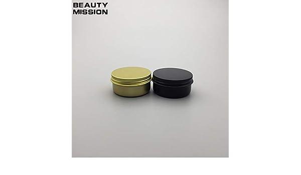 8e0de092410a Amazon.com: Best Quality - Refillable Bottles - 50g gold/matte black ...
