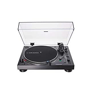 AT-LP120XUSB-BK Direct-Drive Turntable [Black]