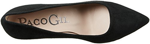 Paco Gil P2645, Damen Pumps Schwarz (Black)