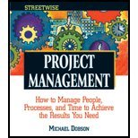 Project Management (03) by Dobson, Michael Singer [Paperback (2003)]