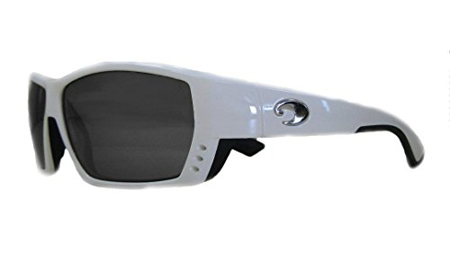 Costa Del Mar Rectangular Tuna Alley Gray 580 Plastic Lens