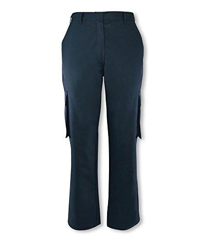 Alexandra stc-nf515na-24r pantalones de carga, Regular, Plain, 67% poliéster 33% algodón, tamaño: 24, azul marino