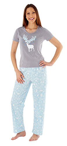 Hari Deals - Pijama - para mujer Azul