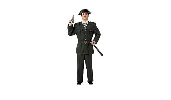 DISBACANAL Disfraces de Guardia Adulto - Único, XL: Amazon.es ...