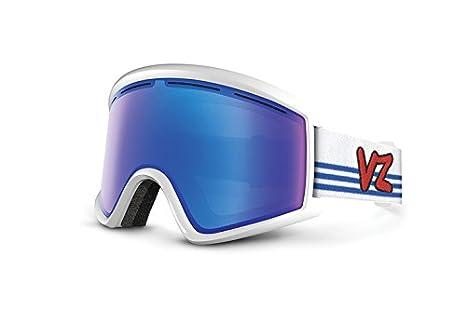 Dba Von Zipper GMSNLCLE AFR VonZipper Cleaver Goggle Asian Fit Red Veezee Inc