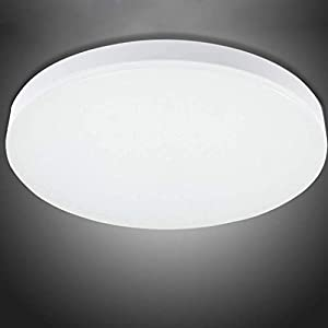 LED Bathroom Lights Ceiling,12W,22cm,6000K Cool White,Waterproof IP54,1050 Lumon,Fitting Indoor Lamp for Bathroom,Kitchen,Hallway,Corridor,Balcony