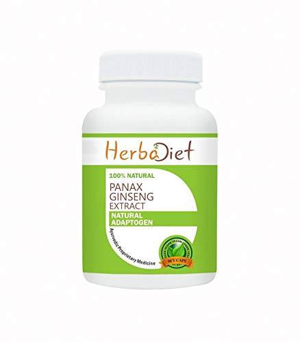 Korean Red Panax Ginseng Root Extract 80% Ginsenosides Capsules Boosts Energy (5 Capsules) by Herbadiet (Image #2)