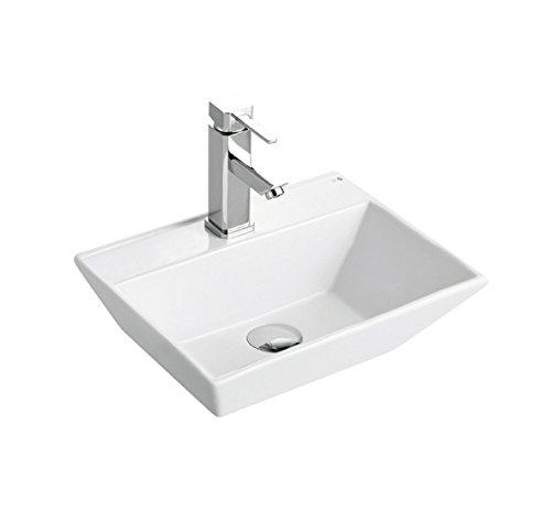 BHD 7019–Ceramic Sink, White by BHD