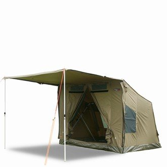 Oztent 30 Second Expedition 3-4 Person Tent (42 Lb) 8 ft(W) x 6.6 ft(D) x 6.6 ft(H) + 6.6 ft(Awning)