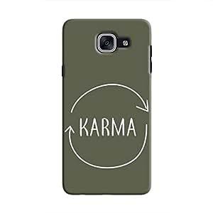 Cover It Up - Karma Circle Galaxy J7 Prime Hard Case