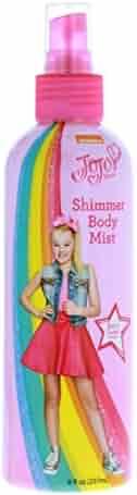 JoJo Siwa Girls Shimmer Body Mist 6oz Bottle