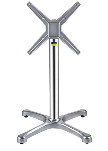 FLAT Self-Stabilizing BX26 26 - Aluminum, Dining Height Table Base with Flip Top Mechanism