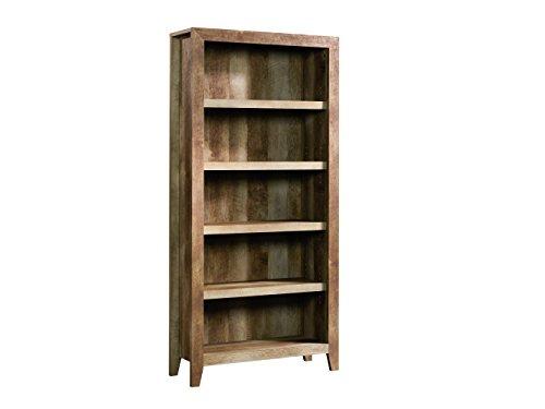 Sauder 418546 Dakota Pass 5-Shelf Bookcase, Craftsman Oak Finish by Sauder