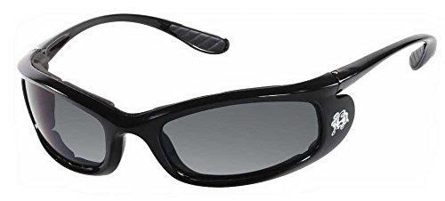 Harley-Davidson Womens Ladyrider Sunglasses, Black w/Gray Lens HDSZ 6700 BLK-3