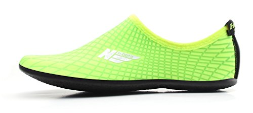 NBERA 2econdskin Durable Outsole Barefoot Water Skin Shoes For Beach Swim Surf Yoga Exercise L