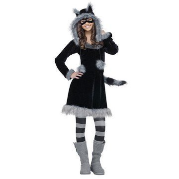 [Sweet Racoon Costume - Teen] (Sweet Raccoon Girls Costumes)